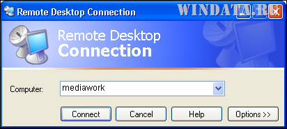 подключение Remote Desktop Connection