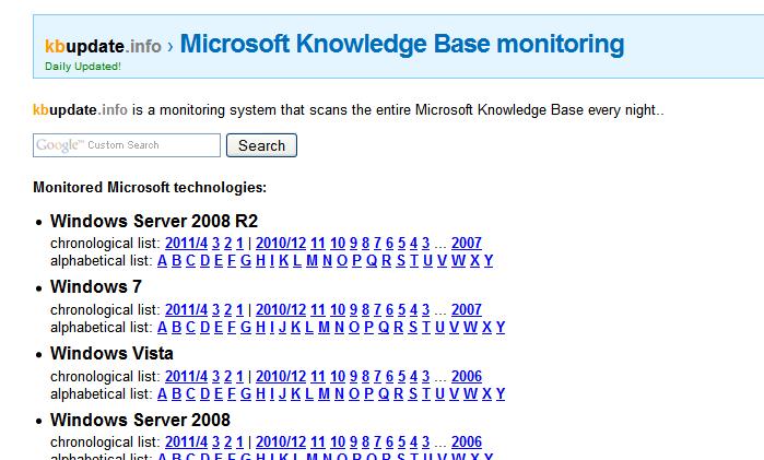 Где скачать обновления для Windows 7