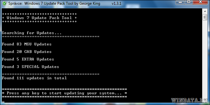 Windows 7 Update Pack Tool
