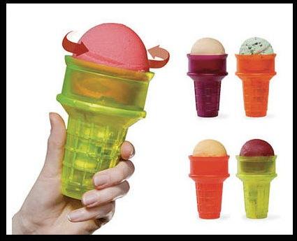 рожок для мороженого с моторчиком