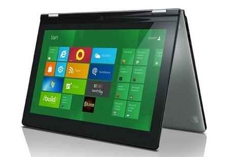 Lenovo IdeaPad Yoga как планшет