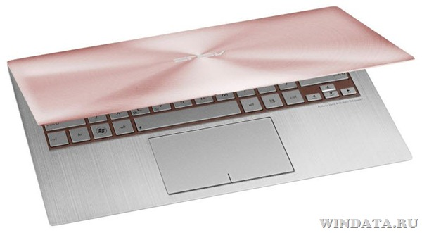 ASUS Zenbook UX21 Rose Gold