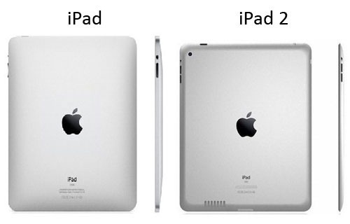 iPad против iPad 2