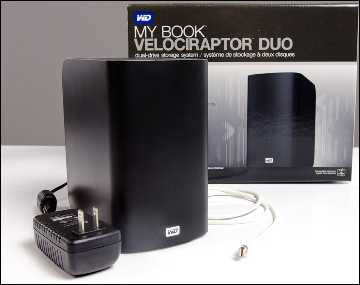 My Book VelociRaptor Duo